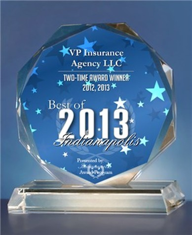 VP Insurance Agency LLC - Best of Indianapolis Award Winner